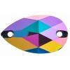 Resin Sew On Stone Galaxy 20pcs Drop 13x22mm Vitrail Purple
